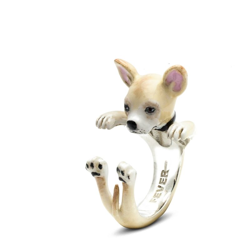 Dog Fever Chihuahua - Custom Hug Ring