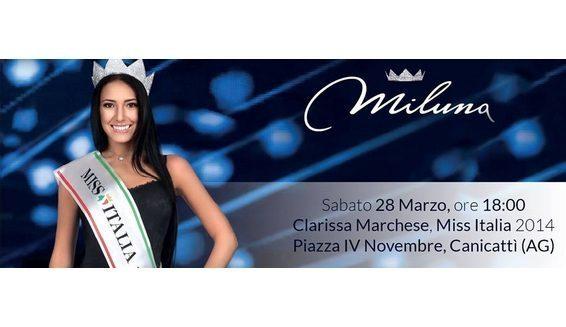 Martines evento Miluna- ospite Miss Italia