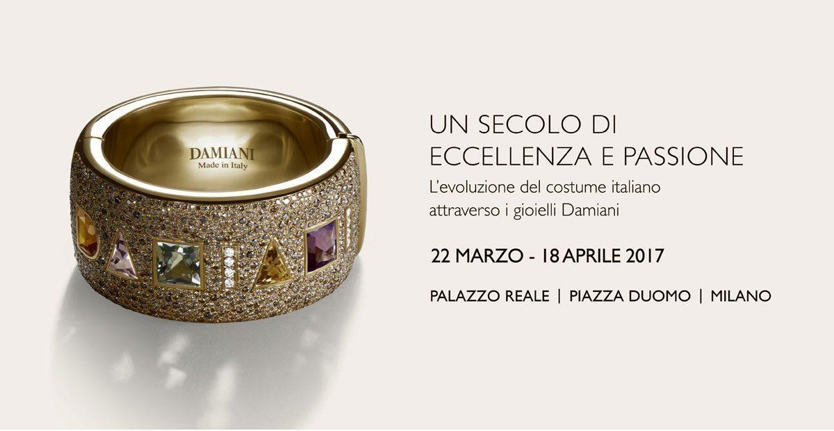 Eccellenza e Passione Damiani in mostra a Palazzo Reale