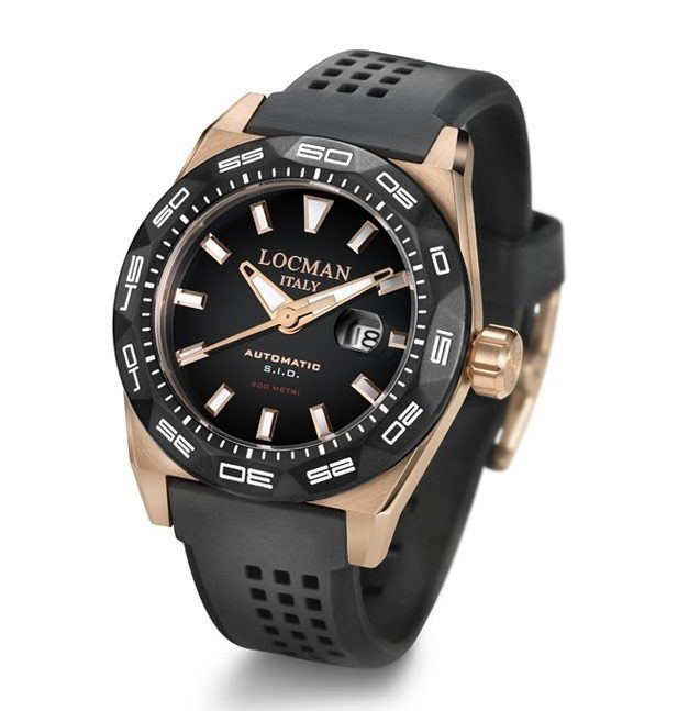 Locman - Stealth 300 Metri Automatico PVD Rose Gold