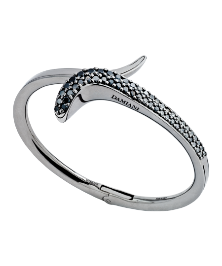 BRACCIALE IN ORO BLACK E DIAMANTI GREY