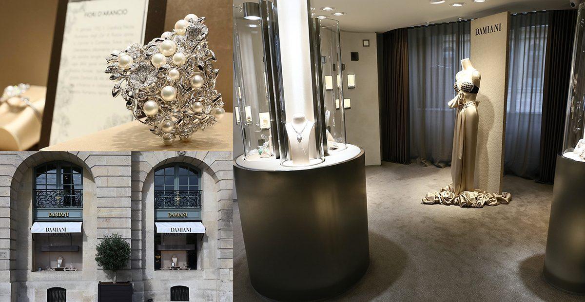 Damiani inaugura la sua nuova boutique a Parigi