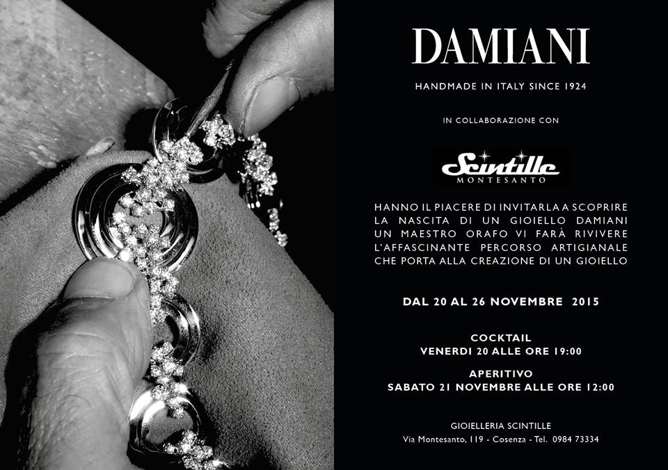 Happy Hour con Damiani