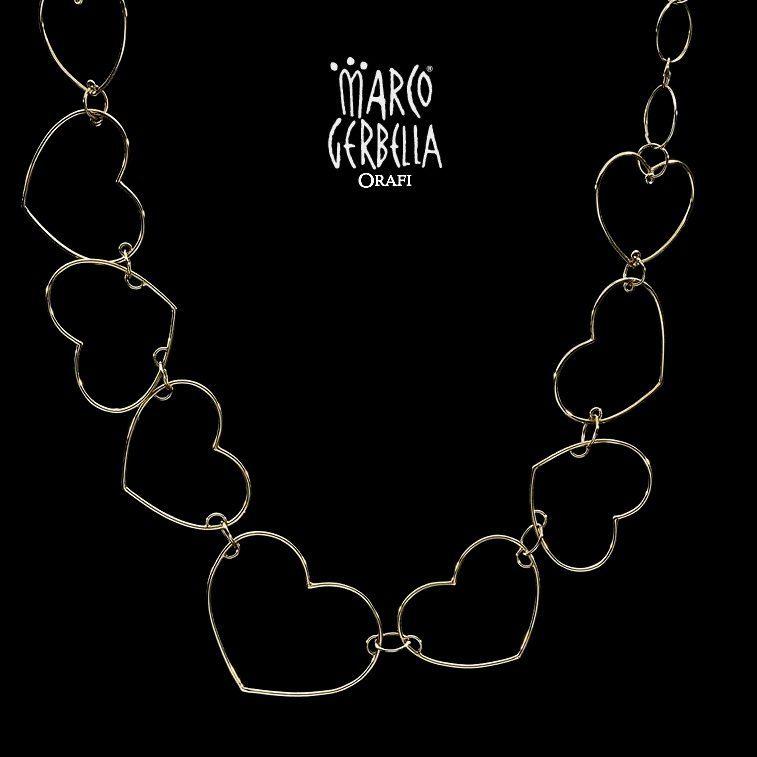 Marco Gerbella Orafi - Collezione Piccole Gioie - Collana in oro rosa 18 Kt