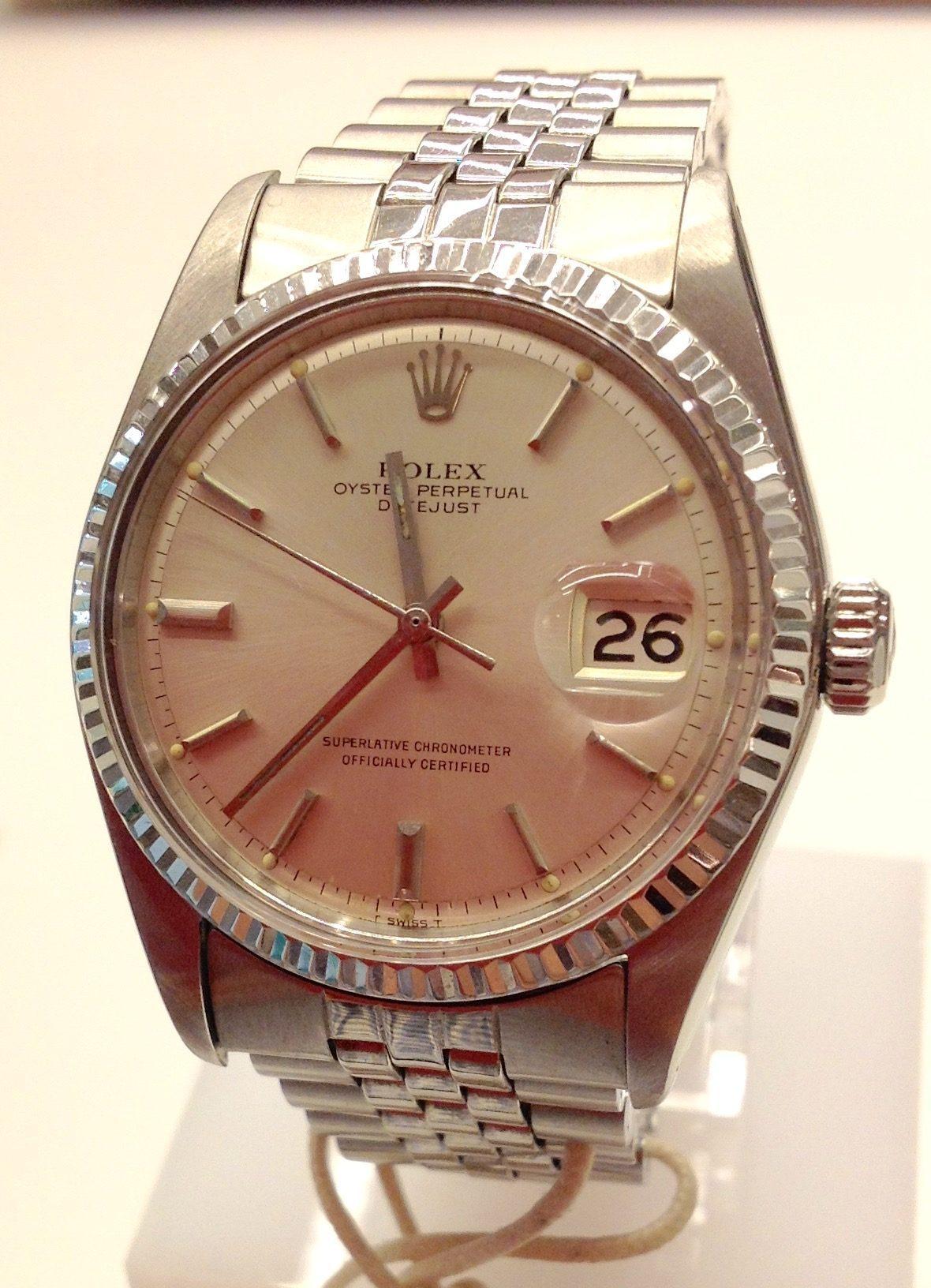 Rolex vintage Datejust 36 mm  ref 1600