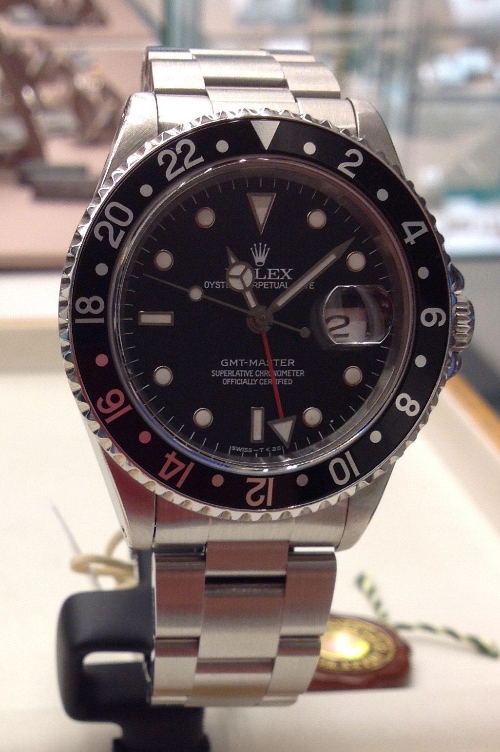 Rolex Datejust GMT MASTER  ref  16700  VENDUTO