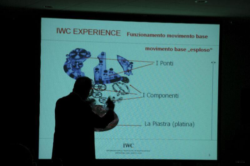 IWC EXPERIENCE CRONOS - FERRARI