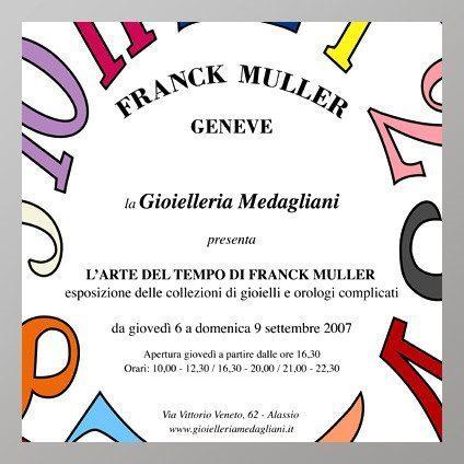 Evento Franck Muller 2007